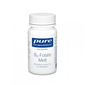PURE ENCAPSULATIONS B12 Folate melt Lutschtabl.